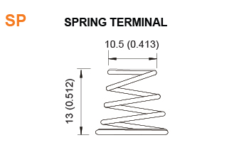 SP - Battery Spring Terminal Specifications