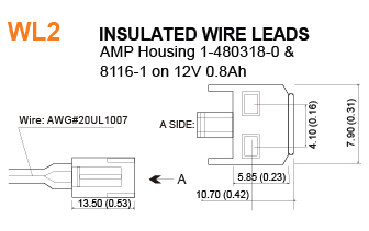 Insulated Wire Leads