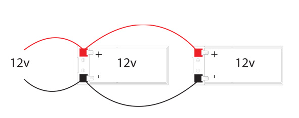Battery parallel connection