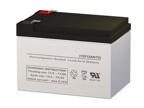 Batterysharks PC12120 12 Volt 12 AmpH SLA Replacement Battery with F2 Terminal