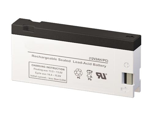 Batterysharks VPA-BP50 12 Volt 2 AmpH SLA Replacement Battery with PC Terminal
