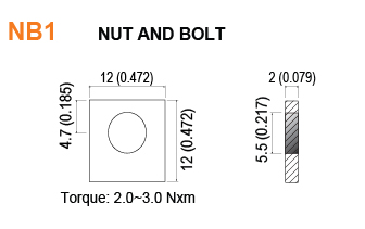 NB1 - Nut and Bolt Battery Terminal Specifications