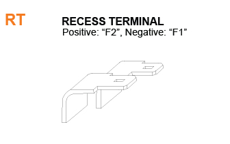 RT - Recess Battery Terminal Specifications