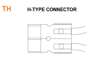 TH - Battery H-Type Connector
