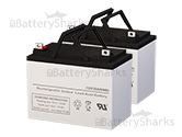 12 volts 35 amperes SLA Battery