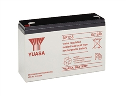 Npx 50 Yuasa Replacement Sla Battery 6v 12ah