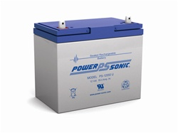 Ps 12550 Power Sonic Replacement Sla Battery 12v 55ah