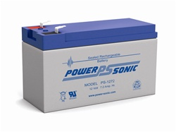 Ps 1272 F2 Power Sonic Replacement Sla Battery 12v 7 5ah