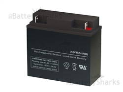 Ub12180 D5745 Universal Power Replacement Sla Battery